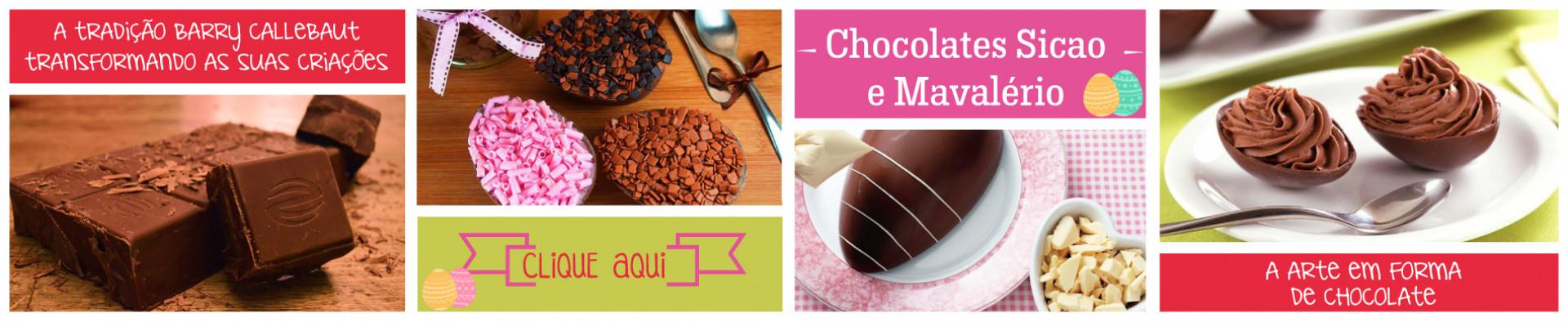 Chocolates Páscoa