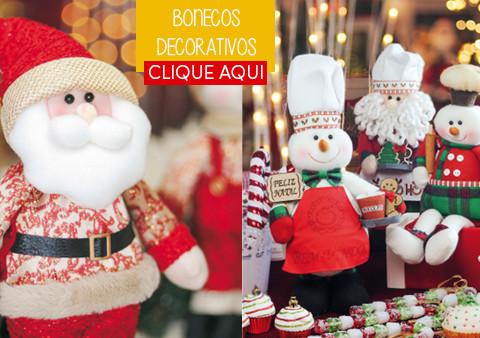 Bonecos Decorativos de Natal