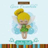 KIT FADA BELL FELTRO/EVA 2UN 13x13cm
